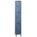 Hallowell ValueMax One Wide Triple Tier Locker in Hallowell Gray (Unassembled)