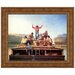 Jolly Flatboatmen in Port, 1857 Replica Painting Canvas Art