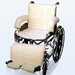 Sheepskin Wheelchair Covers in Cream