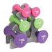 20 lbs Hourglass Dumbbell Set