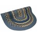 Minuteman Blue Multi with Dark Blue Solids Multi Rug