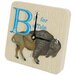 B is for Buffalo Tiny Times Clock