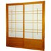 Eudes Shoji Double Sliding Door Kit in Honey