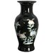 12&quot; Fishtail Vase in Black