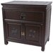 Bedside Cabinet in Dark Rosewood