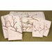 7 Piece Cherry Blossom Bath Set in Ivory