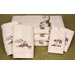 7 Piece Chinoiserie Bath Set
