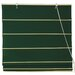Cotton Roman Shades Blinds in Dark Green
