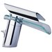 Morgana Single Hole Waterfall Bathroom Faucet Less Handles