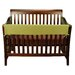 Crib Wrap Long Avocado Fleece Rail Cover