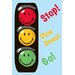 Smiley World Traffic Signal Kids Rug