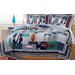 Surfing USA 3 Piece Full/Queen Quilt Set