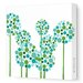 Imagination - Allium Stretched Wall Art