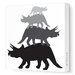 Animal - Tri Tower Stretched Wall Art