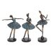 3 Piece Ballerina Figurine Set