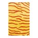Indo Zebra Stripe Yellow Rug