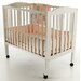 3-in-1 Portable Folding Crib in White