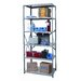 Hi-Tech Shelving Heavy-Duty Open Type Starter Unit with 6 Shelves
