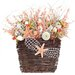 Coastal Sunset Wall Basket