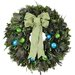 Chelsea Peacock Wreath