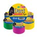Yard Assorted Fluorescent Colored Duct Tape