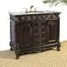 "41"" Hatherleigh Sink Chest in Distressed Espresso"