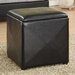 Milano Leatherette Cube Ottoman