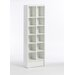 Spectrum Bookcase and Multimedia Storage Rack