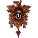 Cuckoo Clock with Leaf Detail