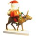 Santa on Reindeer Nutcracker