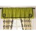 Harlow Rod Pocket Tailored Window Curtain Valance