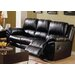 Daley Leather Reclining Loveseat