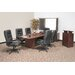 "71"" x 35""  Boat Shape Conference Table Office Set"