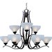 Contour 9 Light Chandelier