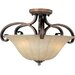 Fremont 3 Light Semi Flush Mount