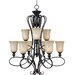 Infinity 9 Light Chandelier