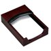 7000 Series Contemporary Leather 4 x 6 Memo Holder in Burgundy
