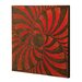 Texrtured Wall Panel in Red/Black