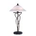 Majesty Table Lamp in Dark Bronze