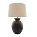 Orion Ceramic Table Lamp in Brushed Bronze