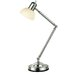 Skiff Desk/Table Lamp in Polished Steel