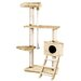 "58"" Tower of Kitty Power Cat Tree"