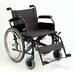 "22"" Ultralight Heavy Duty Bariatric Wheelchair"