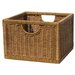 Wicker Single Storage Crate