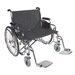 Sentra EC Heavy-Duty Wheelchair in Black