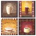 Tuftop Coffee Time Coasters