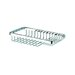 Basket Large Soap / Sponge Holder in Chrome
