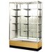 Streamline 70&quot; x 15&quot; Trophy Case with Panel Back