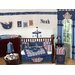 Nautical Nights Collection 9pc Crib Bedding Set