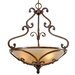 Loretto 3 Light Bowl Inverted Pendant